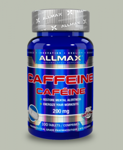 CAFFEINE 200 mg 100 tavolette di All Max Nutrition su integratorisportebenessere.it