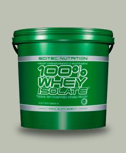 SCITEC 100% WHEY ISOLATE 4 KG di Scitec Nutrition su integratorisportebenessere.it