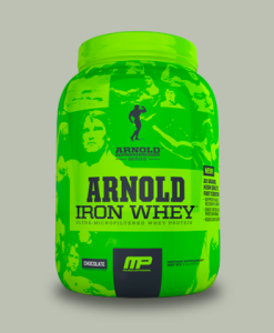 ARNOLD IRON WHEY 908 grammi di MusclePharm Arnold Series su integratorisportebenessere.it