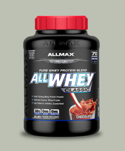ALL WHEY PROTEIN 908 grammi di All Max Nutrition su integratorisportebenessere.it