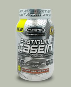 PLATINUM 100% CASEIN 816 grammi di Muscletech su integratorisportebenessere.it