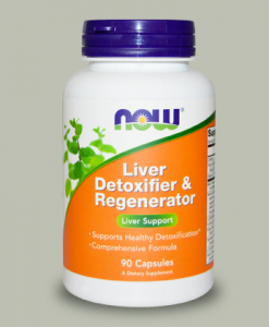 Liver Detoxifier Regenerator 90 capsule di Now Food integratorispoertebenessere.it