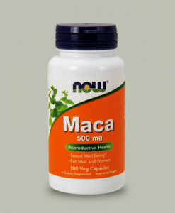 MACA 500 mg 100 capsule di Now Foods su integratorisportebenessere.it