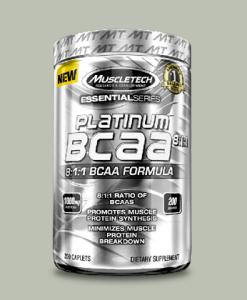 PLATINUM BCAA 8:1:1 200 capsule di Muscletech su integratorisportebenessere.it