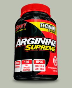 ARGININE SUPREME 100 capsule di SAN Nutrition su integratorisportebenessere.it