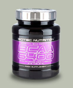 BCAA 6400 375 compresse di Scitec Nutrition su integratorisportebenessere.it