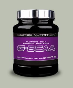 G-BCAA 250 capsule di Scitec Nutrition su integratorisportebenessere.it
