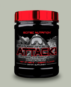 ATTACK 2.0 320 GRAMMI di Scitec Nutrition su integratorisportebenessere.it