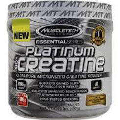 ESSENTIAL PLATINUM 100% CREATINE 400 GRAMMI