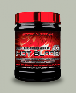 HOT BLOOD 2.0 300 GRAMMI di Scitec Nutrition su integratorisportebenessere.it