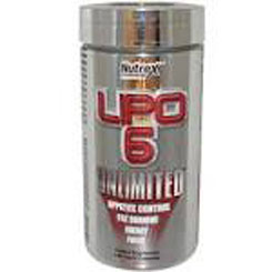LIPO 6 UNLIMITED INTERNATIONAL 120 CAPSULE