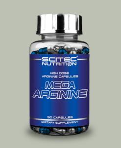 Mega Arginina 90 capsule di Scitec Nutrition su integratorisportebenessere.it