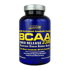 BCAA 3300 TIMED RELEASE 120 COMPRESSE