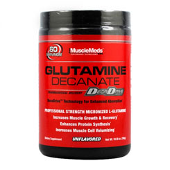 GLUTAMINE DECANATE 300 GRAMMI