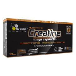 OLIMP CREATINE MEGA CAPS 1250 MG 120 CAPSULE