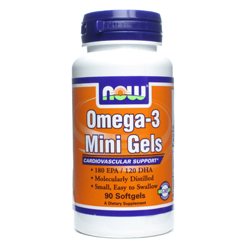 OMEGA-3 MINI GELS 90 SOFTGELS