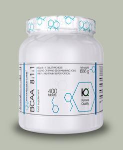 BCAA 8:1:1 Kyowa 400 cps di Pharmapure su integratorisportebenessere.it