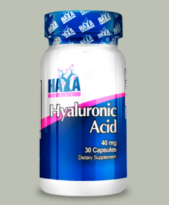 Hyaluronic Acid 40 mg 30 capsule di Haya Labs su integratorisportebenessere.it
