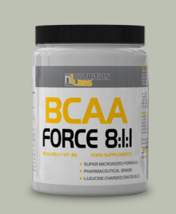 BCAA FORCE 8:1:1 400cps di Nutrition Labs su integratorisportebenessere.it