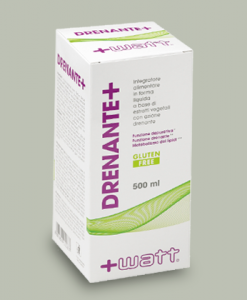 Drenante+ 500 ml di +Watt Nutrition su integratorisportebenessere.it