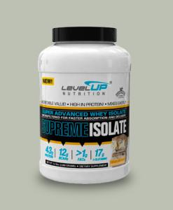 SUPREME ISOLATE 2 KG di LevelUP Nutrition su integratorisportebenessere.it