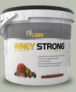 WHEY STRONG 4,54 KG di Nutrition Labs