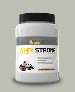 Whey Strong 1 Kg di Nutrition Labs su integratorisportebenessere.it