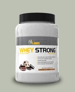 Whey Strong 1 Kg di Nutrition Labs su integratorisportebenessere.it