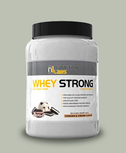 Whey Strong 2,27 Kg di Nutrition Labs su integratorisportebenessere.it
