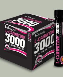 AMPOLLA L-CARNITINA 3000 mg 25 ml di BioTech USA su integratorisportebenessere.it