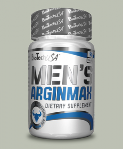 MEN'S ARGINMAX 90 capsule di BioTech USA su integratorisportebenessere.it