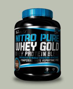 Nitro Pure Whey Gold 2270 grammi di BioTechUSA su integratorisportebenessere.it