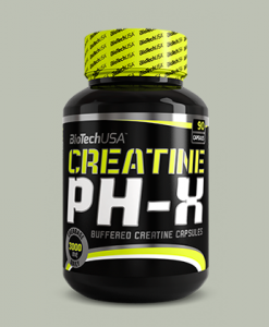 Creatine PH-X 90 capsule di BioTech USA su integratorisportebenessere.it