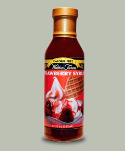 Strawberry Syrup 335 ml di Walden Farms su integratorisportebenessere.it