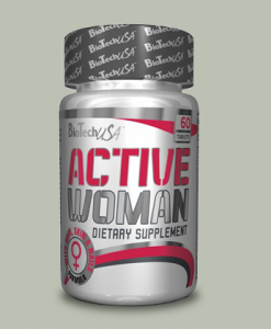 Active Woman 60 capsule di BioTech USA su integratorisportebenessere.it