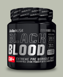 BLACK BLOOD CAF 330 grammi di BioTech USA su integratorisportebenessere.it