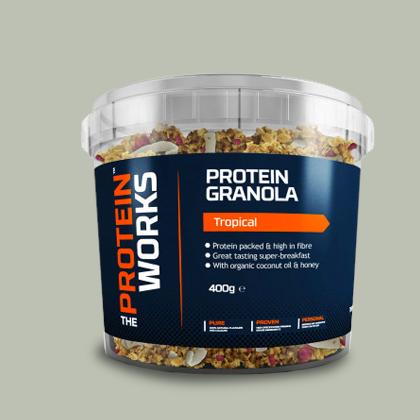 Protein Granola di Protein Works su integratorisportebenessere.it