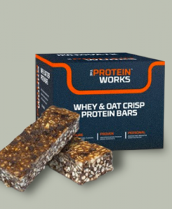 Whey & Oat Crisp Protein Bars di Protein Works su integratorisportebenessere.it
