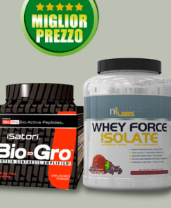 PROMO WHEY FORCE ISOLATE 2 Kg + BIO-GRO 114gr su integratorisportebenessere.it