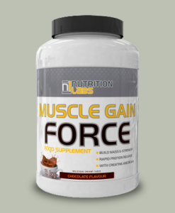 Muscle Gain Force 2Kg di Nutrition Labs su integratorisportebenessere.it