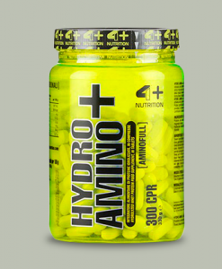 HYDRO AMINO+ 300 compresse di 4+ Nutrition su integratorisportebenessere.it