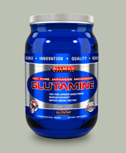 100% Glutamine 1 Kg di AllMax Nutrition su integratorisportebenessere.it