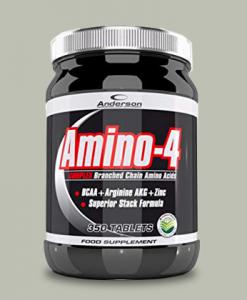 amino-4 complex 350 compresse di anderson research su integratorispoertebenessere.it
