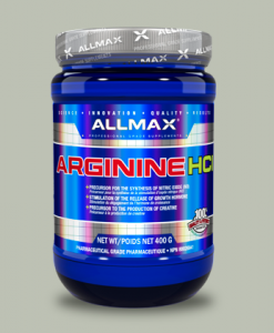 ARGININE HCL 400 grammi di All Max Nutrition su integratorisportebenessere.it