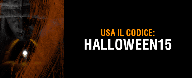 COUPON Sconto SPECIALE del 15% per Halloween