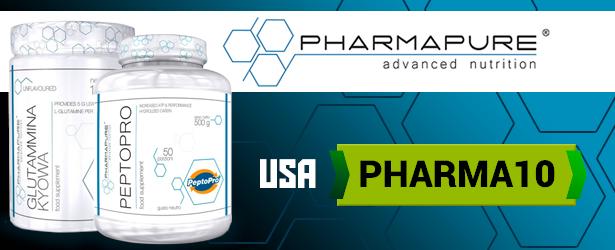 COUPON Sconto SPECIALE del 10% su tutti i prodotti Pharmapure