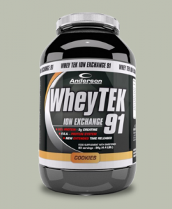 WheyTek 91 2kg di Anderson Research su integratorispoertebenessere.it