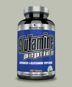 Glutamine Peptide 100 compresse di Anderson Research su integratorispoertebenessere.it