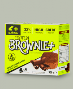 Protein Brownie+ 5x60gr di 4+ Nutrition su integratorisportebenessere.it