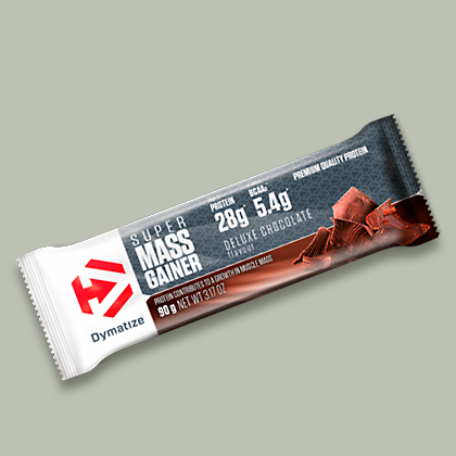 Super Mass Gainer Bar 90 Grammi di Dymatize su integratorisportebenessere.it